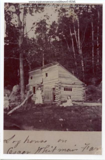 Oscar Whitman Farm, Turner, ca. 1890