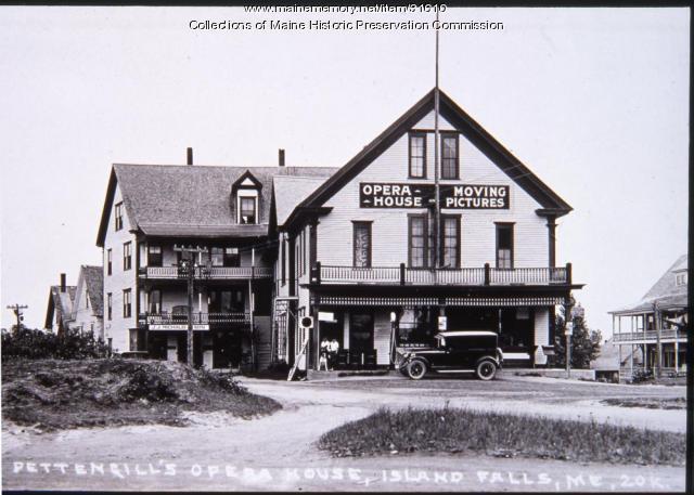 Pettengill's store, Island Falls, ca. 1920