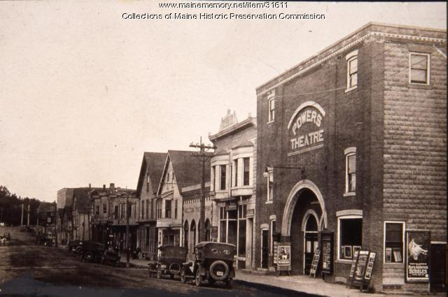 Powers Theater, Caribou, 1920