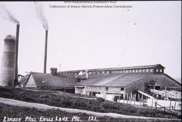 Lumber Mill, Eagle Lake, ca. 1915