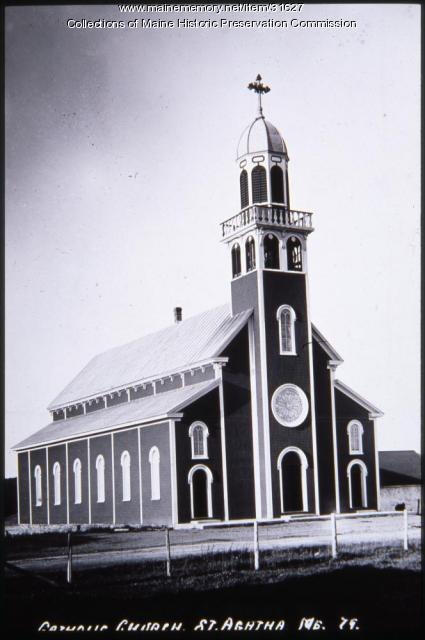 Catholic Church, St. Agatha, ca. 1920