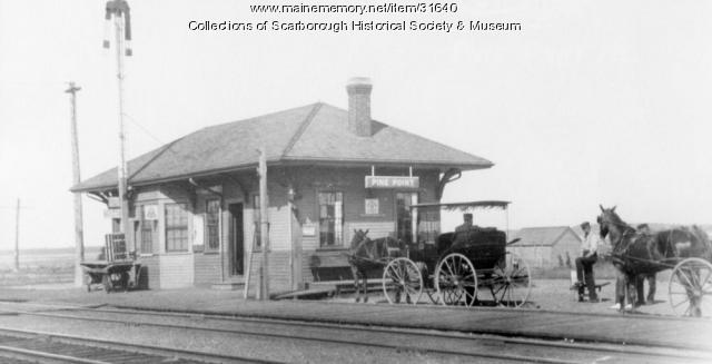 Pine Point RR Station, Scarborough, ca. 1890