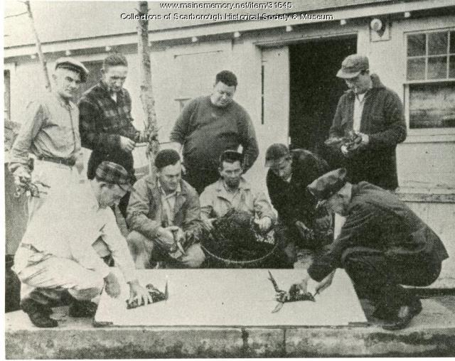 Bayley's Lobster Pound, Scarborough, ca. 1948