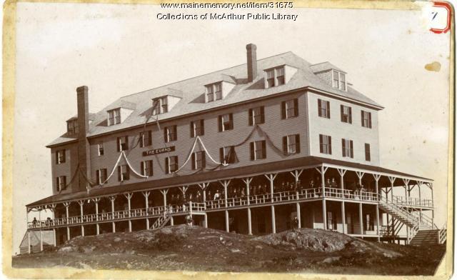 Hotel Evans, Biddeford Pool, ca. 1897
