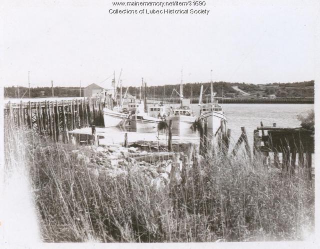 Sardine carriers, Lubec, ca. 1968