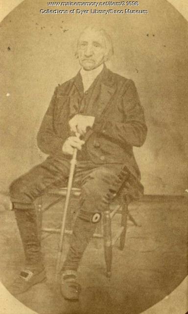 """Samuel """"Squire"""" Peirson, Biddeford, ca. 1850"""