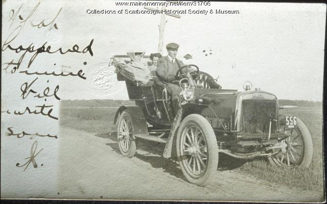 John Meeker's Ford, Scarborough Beach, ca. 1903
