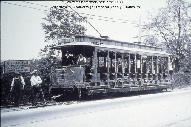 Open Air Trolley, Scarborough, ca. 1910