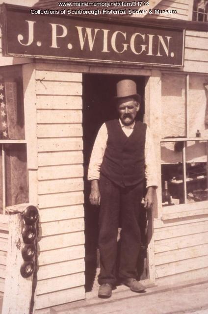 J.P. Wiggin, Scarborough, ca. 1895