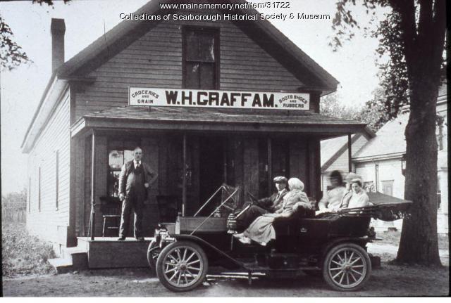 W.H. Graffam Store, Scarborough, ca. 1920