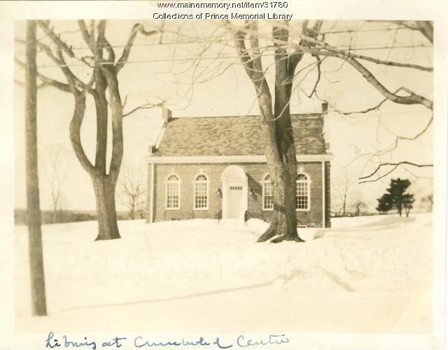 Prince Memorial Library, Cumberland, ca. 1923