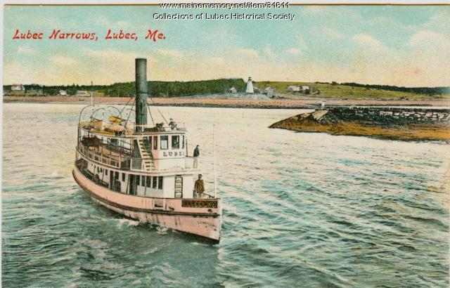 Ferry, Lubec Narrows, ca. 1912