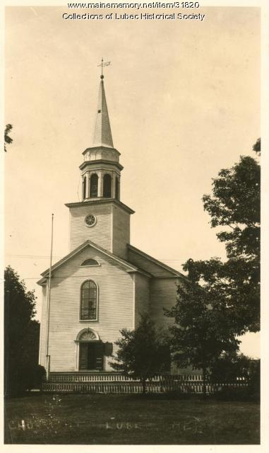 Congregational Church, Lubec, ca. 1930