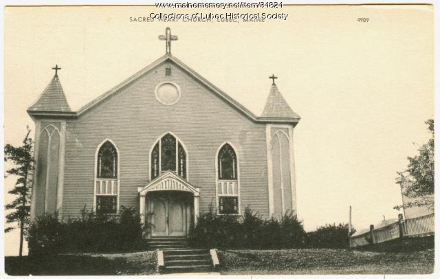Sacred Heart Catholic Church, Lubec, ca. 1940