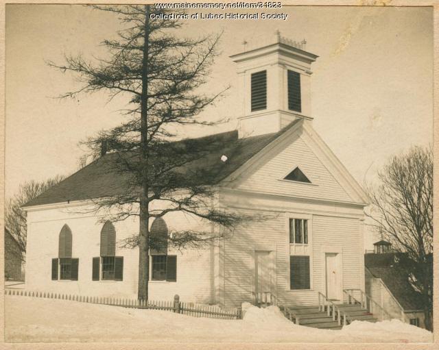 Methodist Church, Lubec, ca. 1905