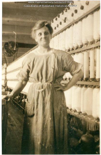 Aurelie Danis, Biddeford, ca. 1912