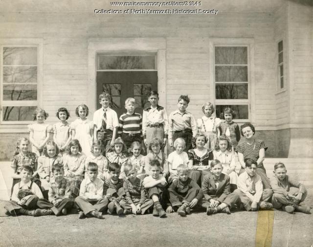 North Yarmouth Memorial School Grades 3 and 4, June, 1950