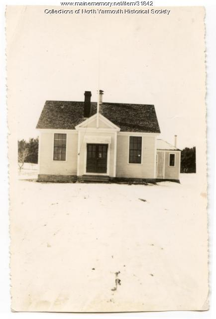 Walnut Hill School, North Yarmouth, 1935