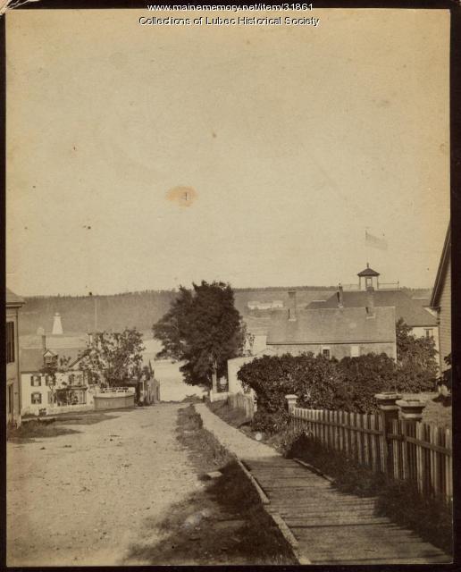 Main Street, Lubec, ca. 1910