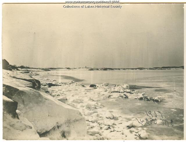 Sea ice, Lubec, 1907