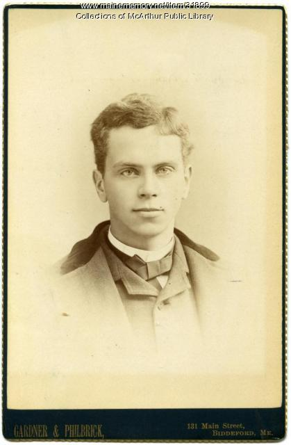 Robert Henry Gay, Biddeford, 1887