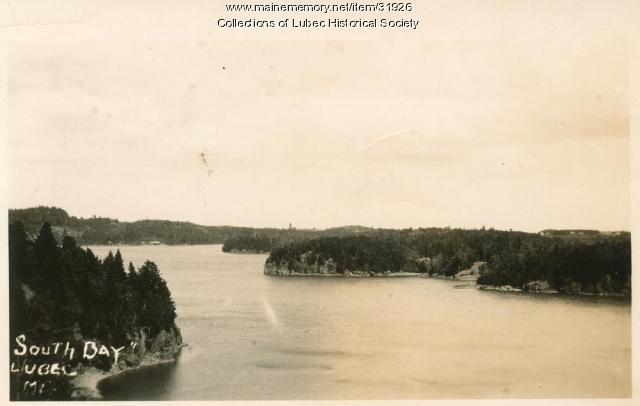 South Bay, Lubec, ca. 1930