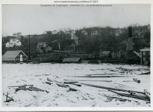 Flood, Joppa/Sheppard's Point, Hallowell, 1896