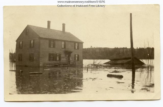 Flood, Joppa, Hallowell, 1923