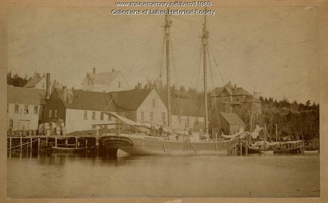 Sardine carrier, Lubec, ca. 1900