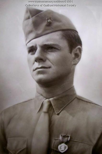 Sgt. Louis Wilbur Trafton, Guilford, 1943