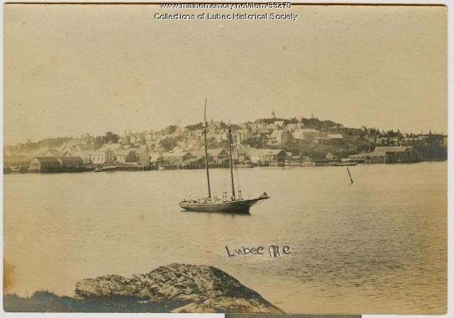 Waterfront view Lubec, ca. 1901