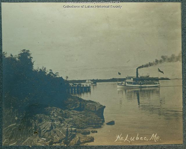 Ferry, Lubec, ca. 1890