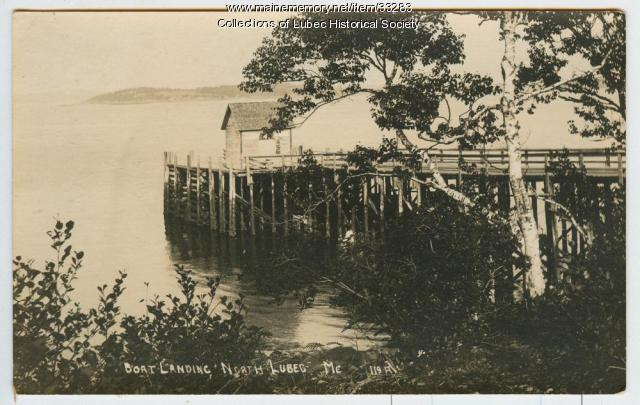 Ferry Landing, North Lubec, ca. 1900