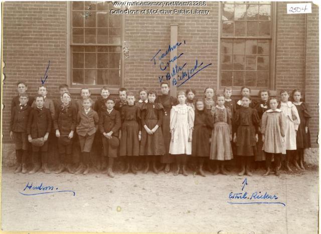 Spruce Street Intermediate School, Biddeford, ca. 1897