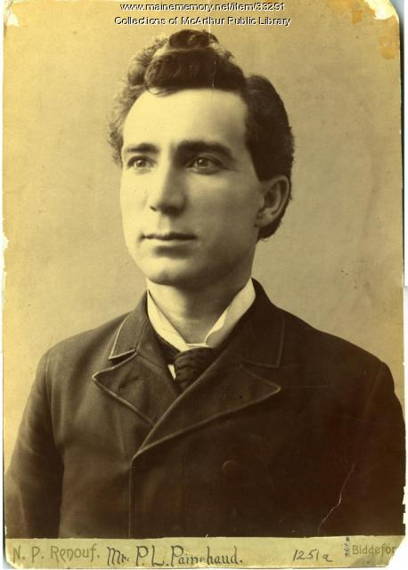 Pierre L. Painchaud, Biddeford, ca. 1885