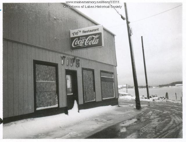 Restaurant, Lubec, ca. 1970