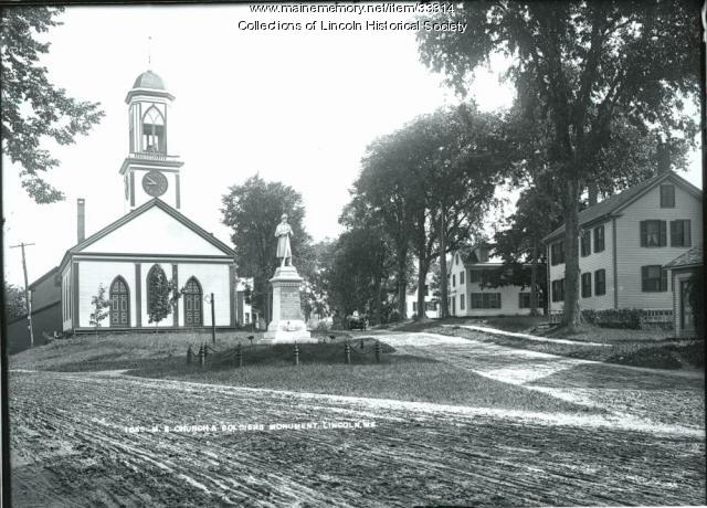 Stinchfield Monument, Lincoln, ca. 1887
