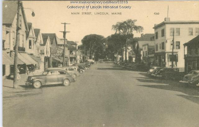 Main Street, Lincoln, ca. 1930