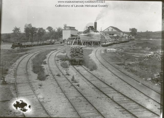 New sawmill, Lincoln, ca. 1904