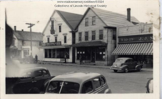 J. J. Newberry Co., Lincoln, ca. 1945