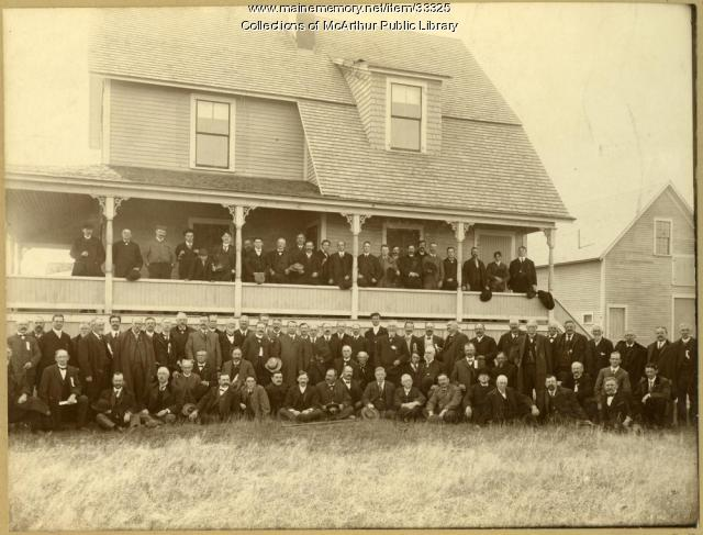 Board of Trade clam bake, Biddeford Pool, 1903