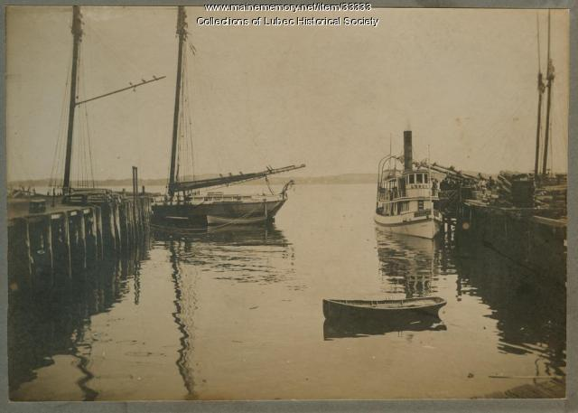 Passamaquoddy Steam Ferry Co., Eastport, ca. 1890
