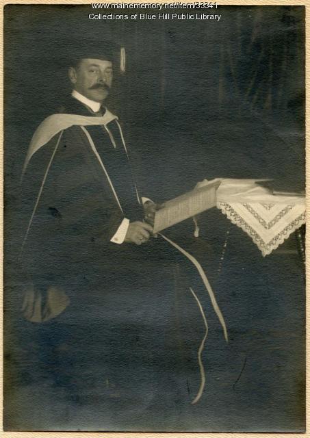 Franz Kneisel, Blue Hill, 1913