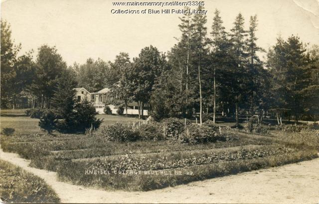 Kneisel Cottage, Blue Hill, ca. 1916