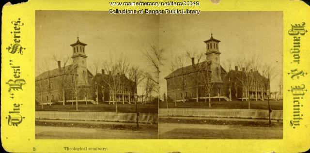 Bangor Theological Seminary Chapel, Bangor, ca. 1881