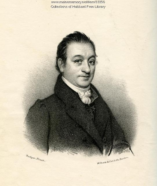 Dr. Benjamin Page, Jr., Hallowell, 1844