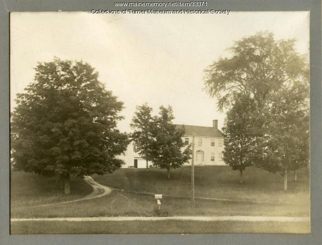 Conant homestead, Turner, ca. 1915
