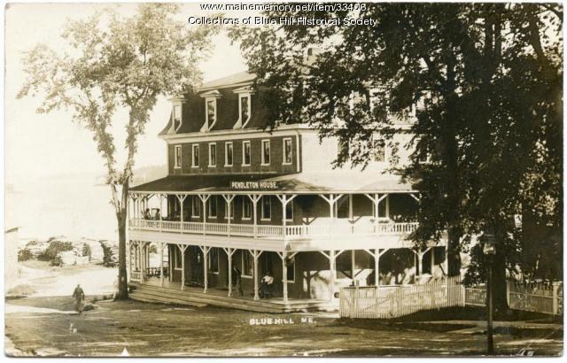 Pendleton House Hotel, Blue Hill, ca. 1910