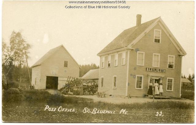 South Blue Hill Post Office, ca. 1910