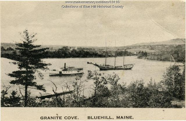 Granite Cove, Blue Hill, ca. 1900